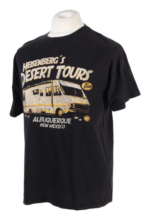 Vintage Nastrovie Denim Lost at Sea T-Shirt L Black TS347-109532