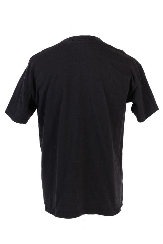 Vintage Nastrovie Denim Lost at Sea T-Shirt L Black TS347-109533