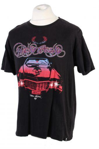 Vintage FB Limited Three Stripes T-Shirt XL Black TS354-109560