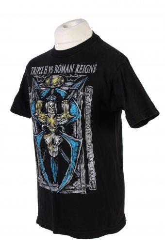 Vintage W Authentic Fashion T-Shirt M Black TS357-109571
