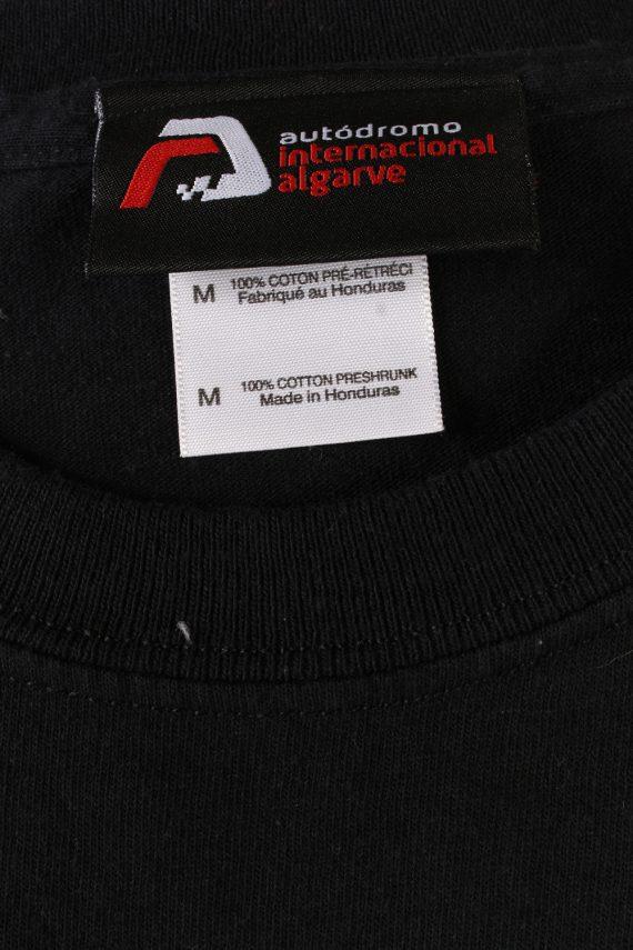 Vintage Autodrama International Retro T-Shirt M Black TS358-109577