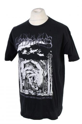 Vintage Gildan Heavy Cotton Regular Fit T-Shirt L Black TS361-109587