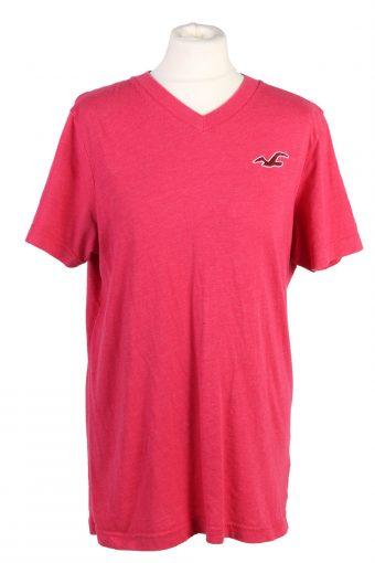 Hollister T-Shirt 90s Retro Shirt Pink XL