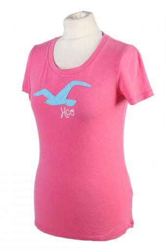 Vintage Hollister T-Shirt L Pink TS377-109651