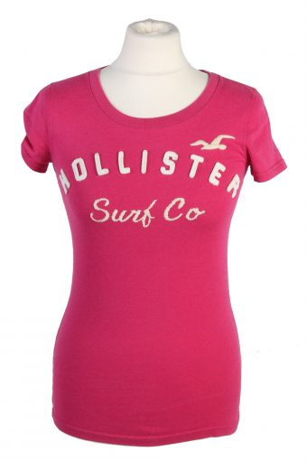 Hollister T-Shirt 90s Retro Shirt Pink M