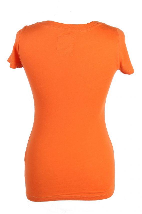 Vintage Hollister T-Shirt XS Orange TS382-109668
