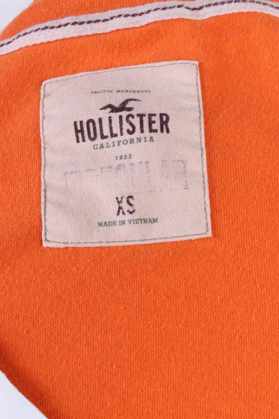 Vintage Hollister T-Shirt XS Orange TS382-109669