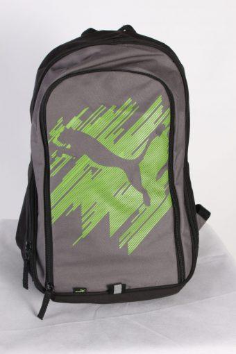 Vintage Puma Backpack Bag Unisex Black