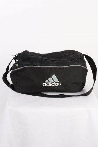 Vintage Adidas Spor Bag Three Stripes Black