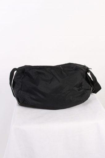 Vintage Adidas Spor Bag Three Stripes Black BG694-111629
