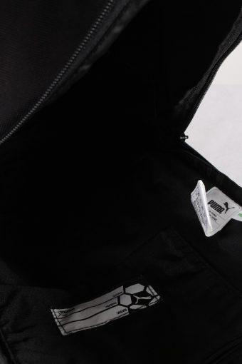 Vintage Puma Backpack Bag Unisex Sport Black Blue BG711-111691