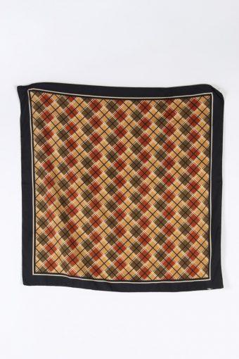 Vintage Scarf Geometric Ladies Multi Colour FL045-110123
