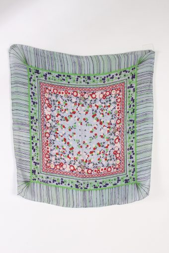 Vintage Scarf Floral Printed Multi Colour FL076-110731