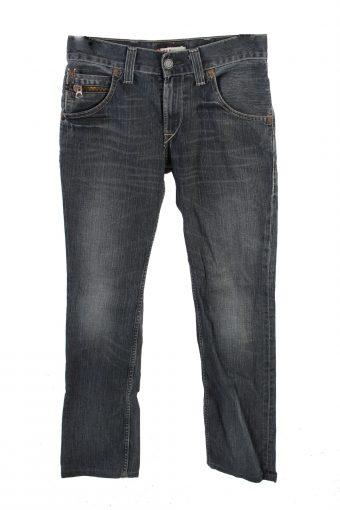 Levi's 511 Mid Waist Jeans Slim Leg Fashion Casual 32 in