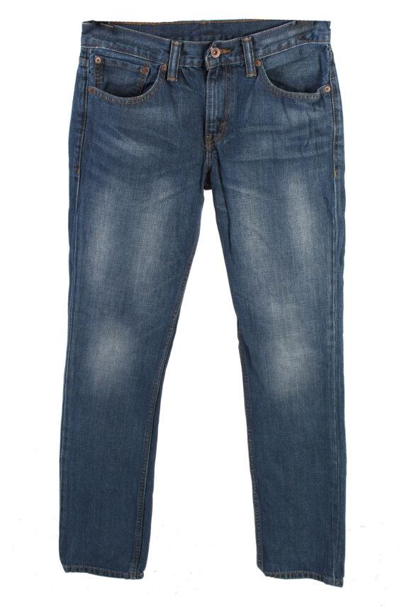 Vintage Levis 754 Mid Waist Jeans Slim Leg 30 in. Blue J4177-0