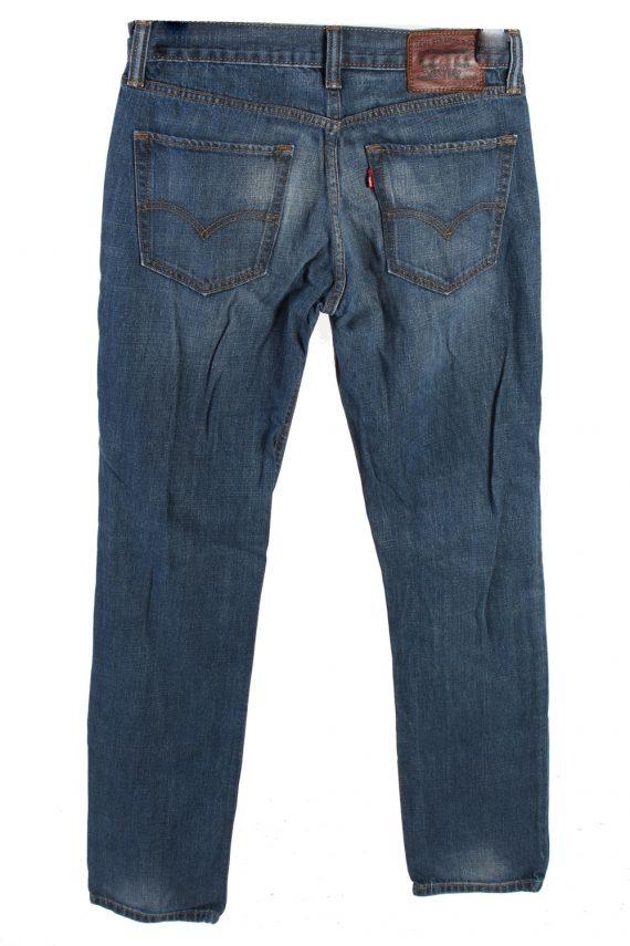 Vintage Levis 754 Mid Waist Jeans Slim Leg 30 in. Blue J4177-110211