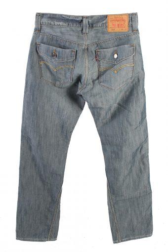 Vintage Levis 514 Unisex Low Waist Jeans Slim Straight Leg 32 in. Light Blue J4183-110235