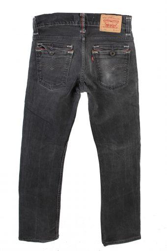Vintage Levis 506 Standart Low Waist Jeans Straight Leg 30 in. Black J4184-110239