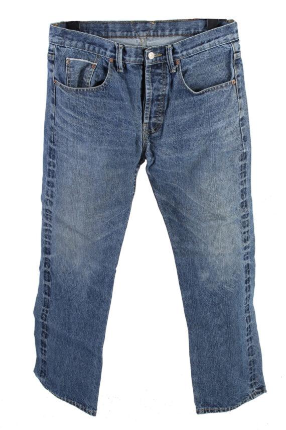 Vintage Levis 507 Mid Waist Jeans 32 in. Blue J4189-0