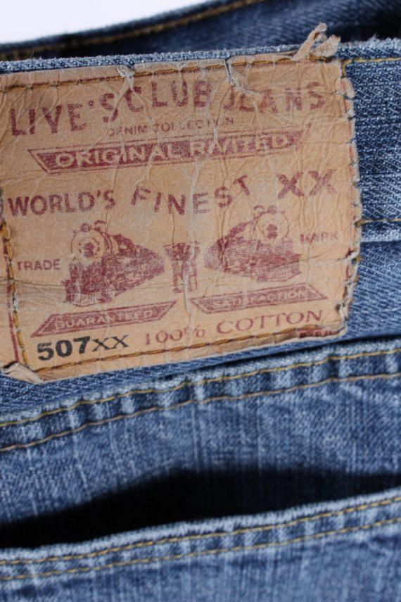 Vintage Levis 507 Mid Waist Jeans 32 in. Blue J4189-110260