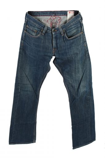 Mustang Mid Waist Jeans Boot Leg MEN Fashion 32 in