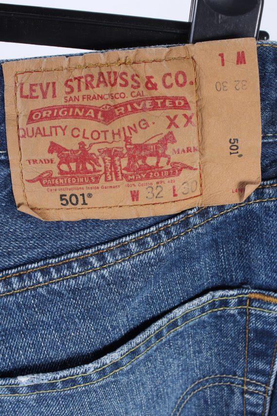 Vintage Levis Type 1 Tought Boot 30 in. Dark Blue J4196-110288