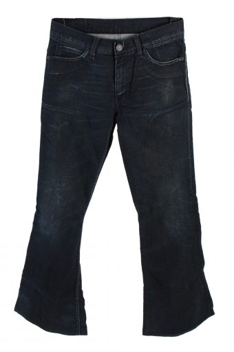 Levi's Mid Waist Jeans Flare Leg Fashion Casual 28 in