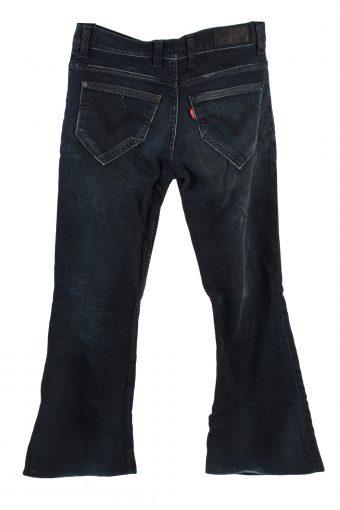 Vintage Levis Mid Waist Jeans Flare Leg 28 in. Dark Blue J4200-110303