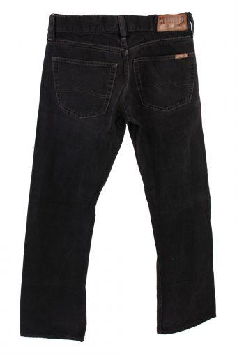 Vintage Mustang Mid Waist Jeans Boot Leg 30 in. Black J4207-110331