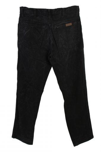 Vintage Wrangler Regular Fit Low Waist Straight Leg 32 in. Black J4208-110335