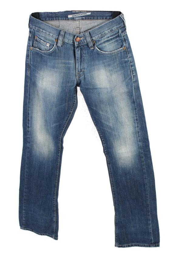 Vintage Mustang Mid Waist Jeans Boot Leg 30 in. Blue J4209-0