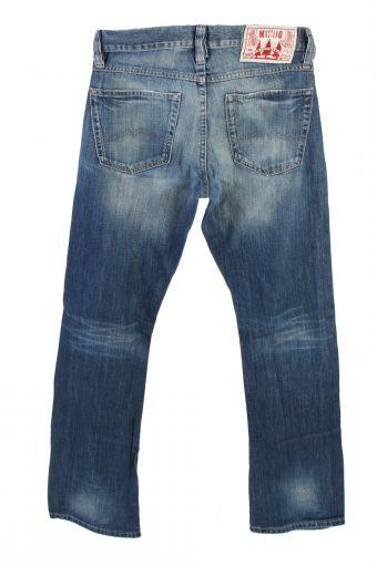 Vintage Mustang Mid Waist Jeans Boot Leg 30 in. Blue J4209-110339