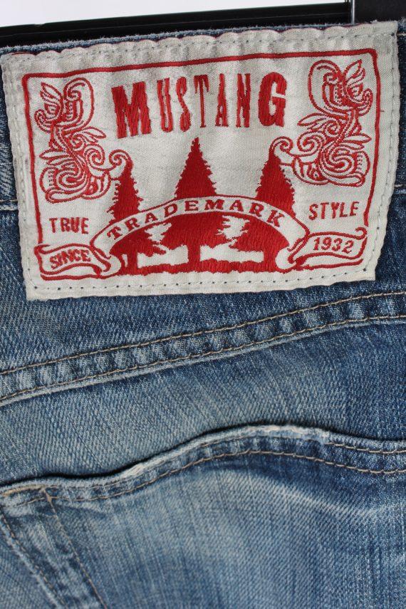 Vintage Mustang Mid Waist Jeans Boot Leg 30 in. Blue J4209-110340
