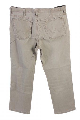 Vintage Wrangler Mid Waist Jeans Straight Leg 36 in. Light Grey J4212-110446