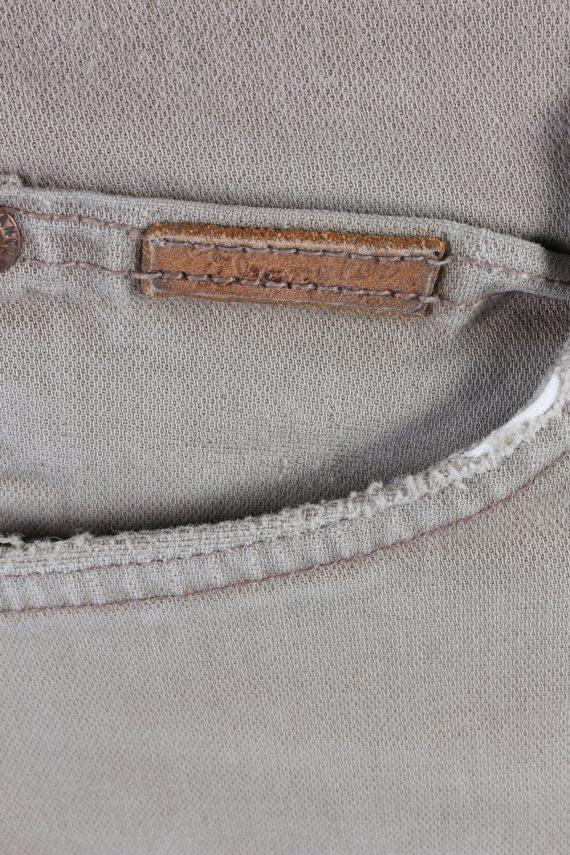 Vintage Wrangler Mid Waist Jeans Straight Leg 36 in. Light Grey J4212-110447