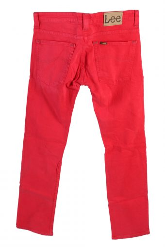 Vintage Lee Powell Stretch Jeans Slim Leg 32 in. Red J4217-110466