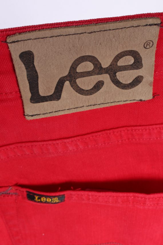 Vintage Lee Powell Stretch Jeans Slim Leg 32 in. Red J4217-110467