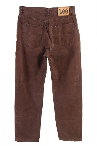 Vintage Lee Mid Waist Jeans Straight Leg 30 in. Brown J4219-110474