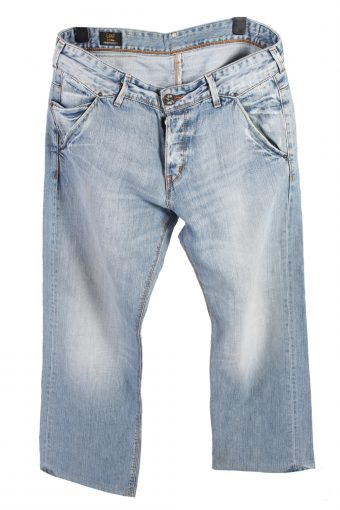 Lee Nitro Denim Jeans Baggy Mens W37 L34