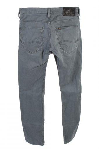 Vintage Lee Powell Jeans Mid Waist Slim Leg 28 in. Grey Blue J4221-110482