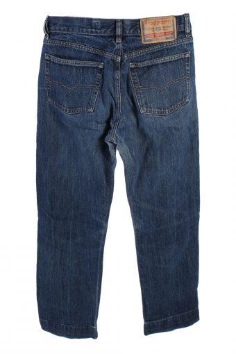 Vintage Diesel Industry Straight Leg Jeans Mid Waist 30 in. Dark Blue J4225-110498