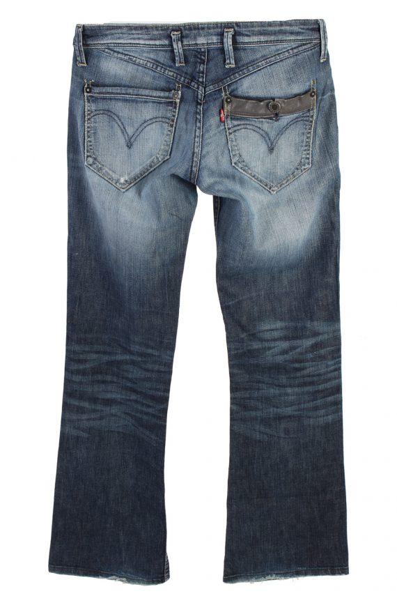 Vintage Levis Low Waist Flared Leg 30 in. Blue J4226-110502