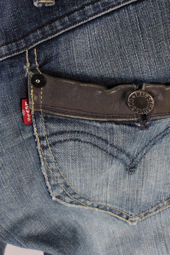 Vintage Levis Low Waist Flared Leg 30 in. Blue J4226-110503