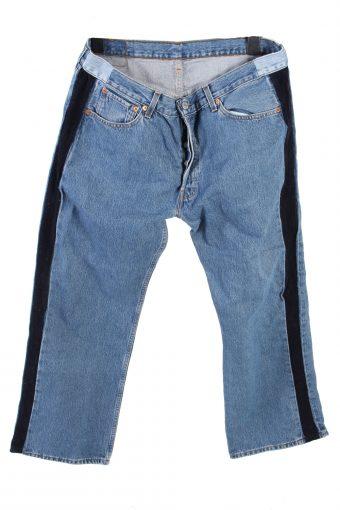 Levi's 501 Denim Jeans Boot Leg Mens W36 L30