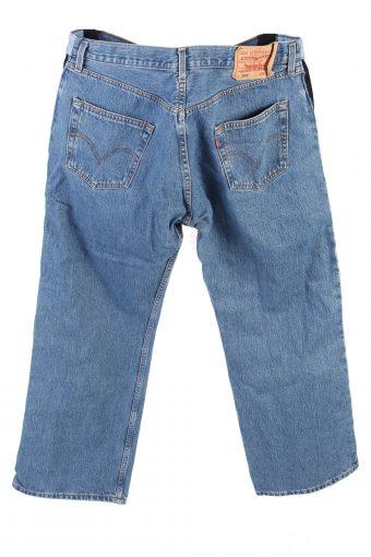 Vintage Levis 501 High Waist Jeans Boot Leg 36 in. Blue J4241-110858