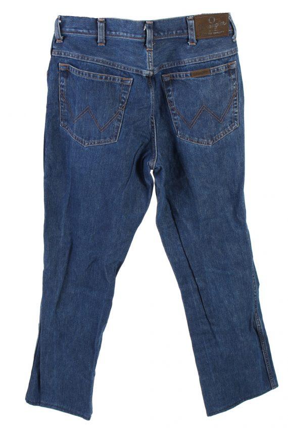 Vintage Wrangler Regular Fit Jeans Mid Waist Straight Leg 30 in. Dark Blue J4245-110874