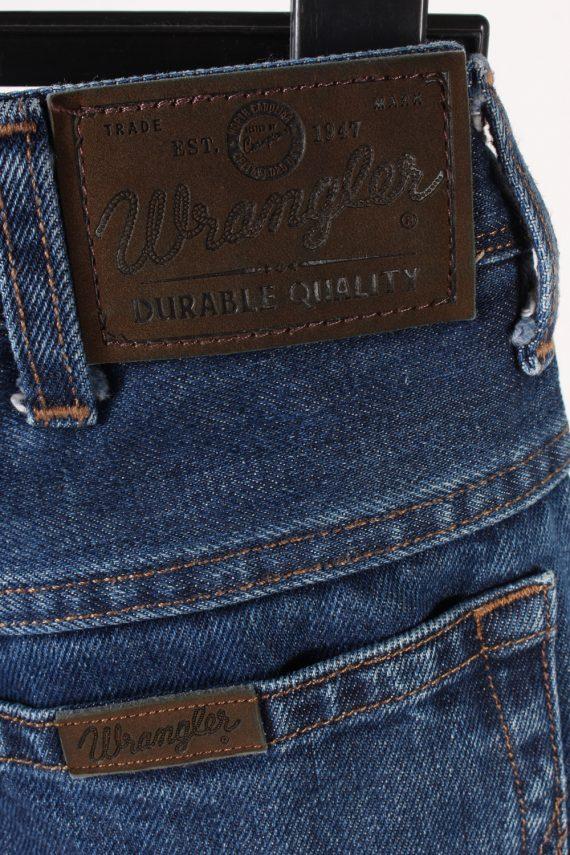 Vintage Wrangler Regular Fit Jeans Mid Waist Straight Leg 30 in. Dark Blue J4245-110875