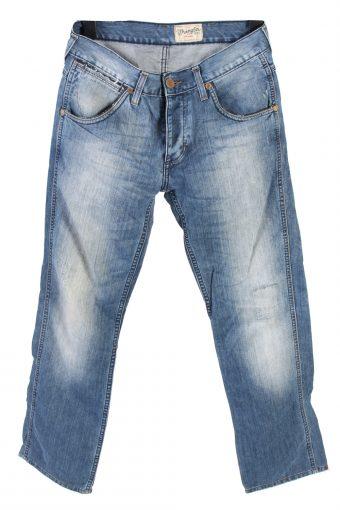 Wrangler Crank Denim Jeans Straight Mens W31 L31