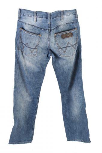 Vintage Wrangler Cranck Mid Waist Jeans Straight Leg 32 in. Blue J4247-110882