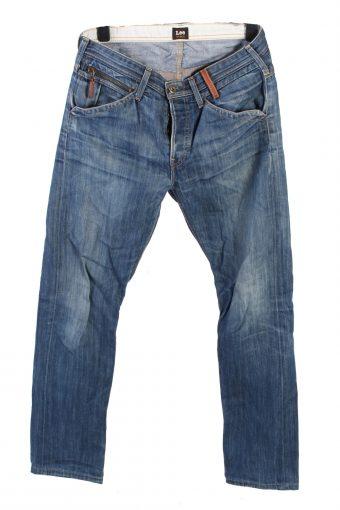 Lee Sundance Denim Jeans Straight Mens W32 L33